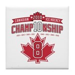 2010 Championship Tile Coaster
