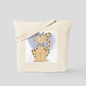 Boy Hip Cat Tote Bag