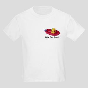 B is for Boat Kids Light T-Shirt