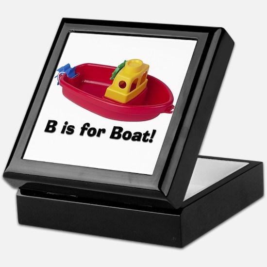 B is for Boat Keepsake Box