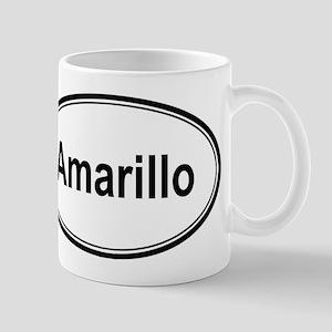 Amarillo (oval) Mug