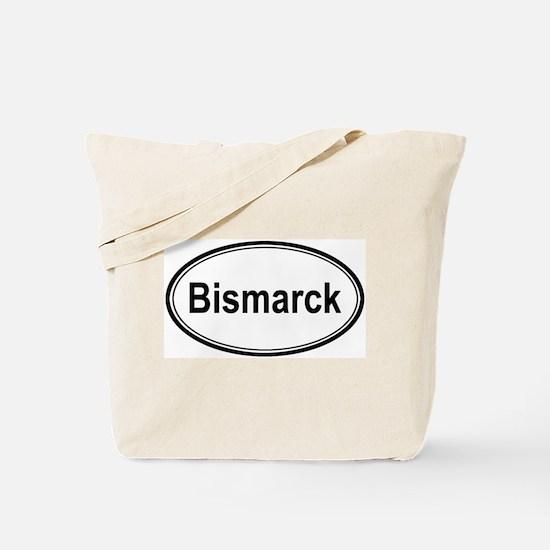 Bismarck (oval) Tote Bag