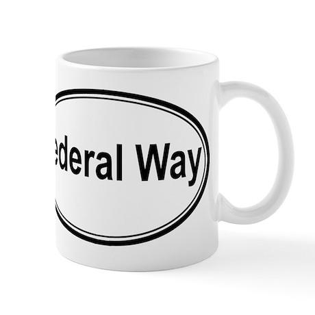 Federal Way (oval) Mug