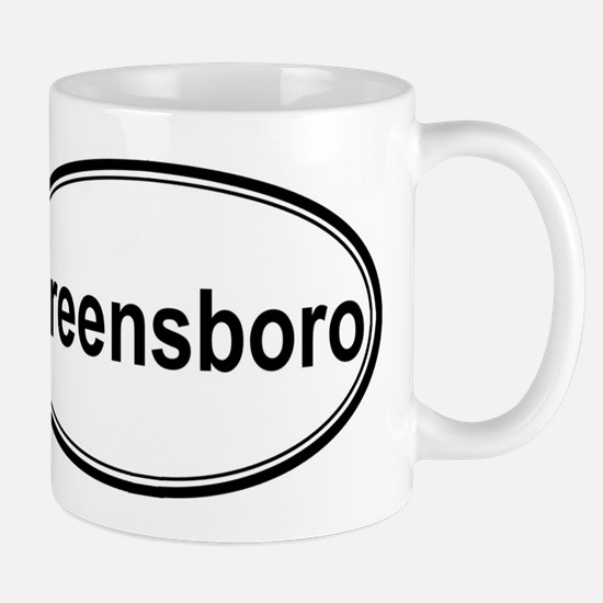 Greensboro (oval) Mug