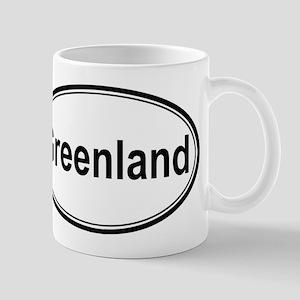 Greenland (oval) Mug