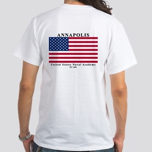 USNA Ensign White T-Shirt