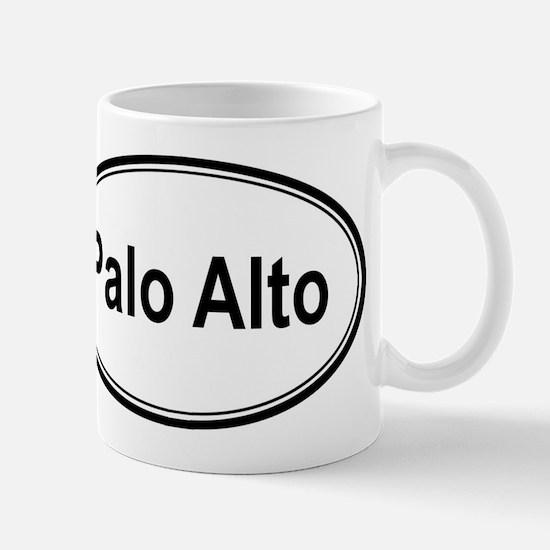 Palo Alto (oval) Mug