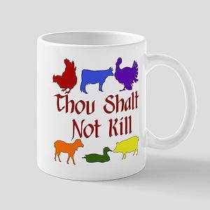 Thou Shalt Not Kill Mug