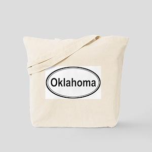Oklahoma (oval) Tote Bag
