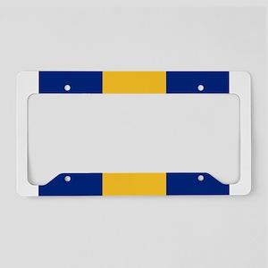 Barbados flag License Plate Holder