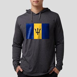 Barbados flag Long Sleeve T-Shirt