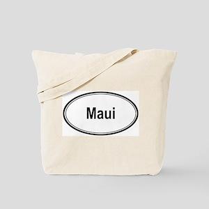 Maui (oval) Tote Bag