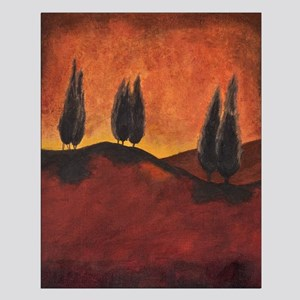 Small Print Tuscany lanscape abstract contemporary