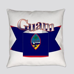 GUam ribbon Everyday Pillow