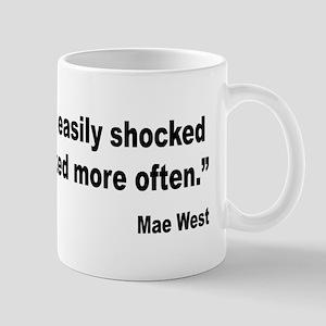 Mae West Shock Quote Mug