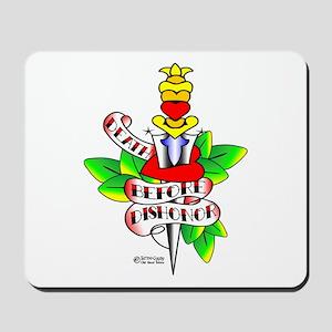Tattoo Dagger & Heart #1002 Mousepad
