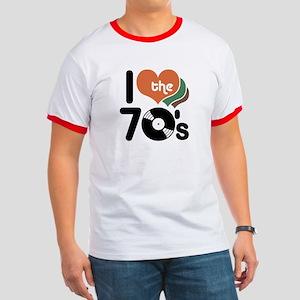 I Love the 70's Ringer T