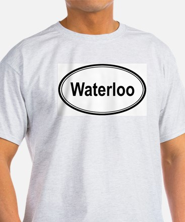 Waterloo (oval) T-Shirt