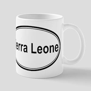 Sierra Leone (oval) Mug