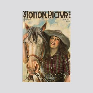 Mabel Normand 1922 magazine Rectangle Magnet