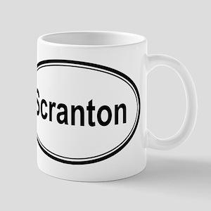 Scranton (oval) Mug