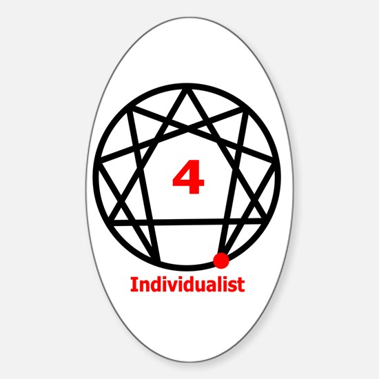 Type 4 Individualist Oval Decal