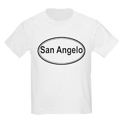 San Angelo (oval) T-Shirt