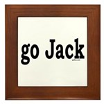 go Jack Framed Tile