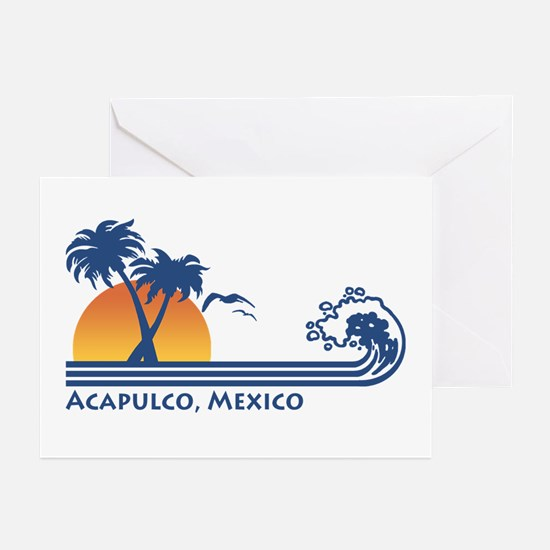 Acapulco Mexico Greeting Cards (Pk of 10)