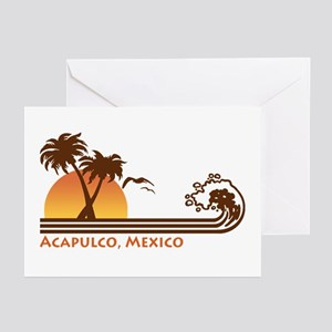 Acapulco Mexico Greeting Cards (Pk of 10)