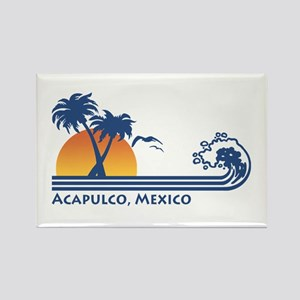Acapulco Mexico Rectangle Magnet