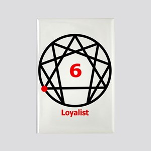Type 6 Loyalist Rectangle Magnet