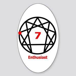 Type 7 Enthusiast Oval Sticker