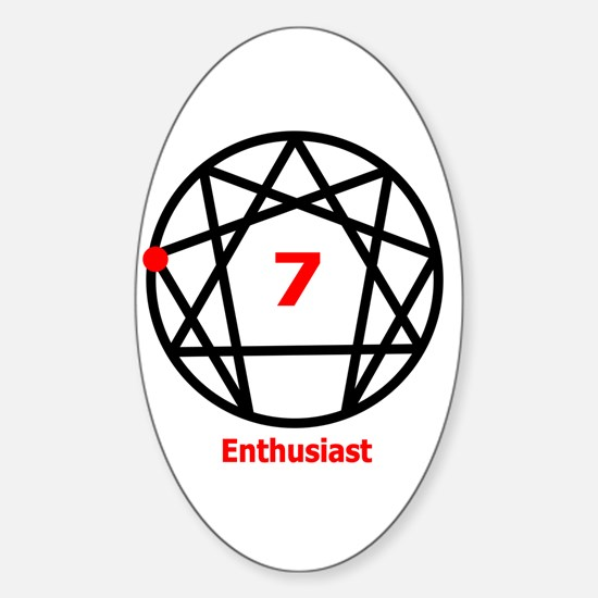 Type 7 Enthusiast Oval Decal