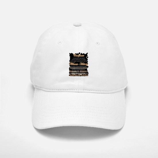 Witness to History Certificate - Baseball Baseball Cap