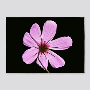 Pink Cosmos 5'x7'Area Rug