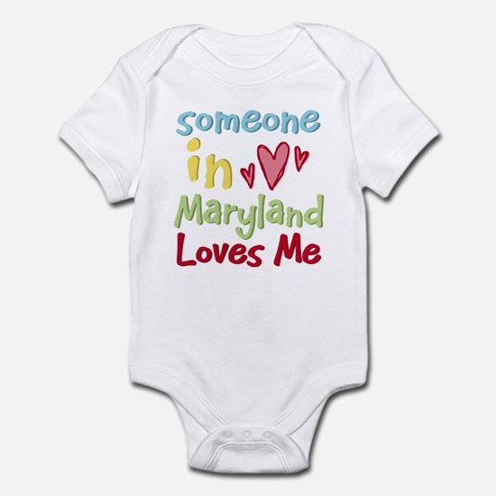 Someone in Maryland Loves Me Infant Bodysuit