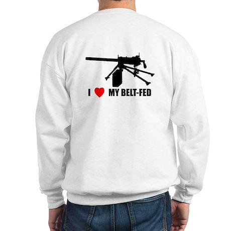 Back Logo Hooded Sweatshirt