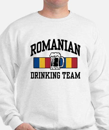 Romanian Drinking Team Sweatshirt