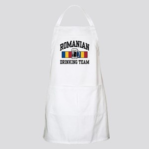 Romanian Drinking Team BBQ Apron