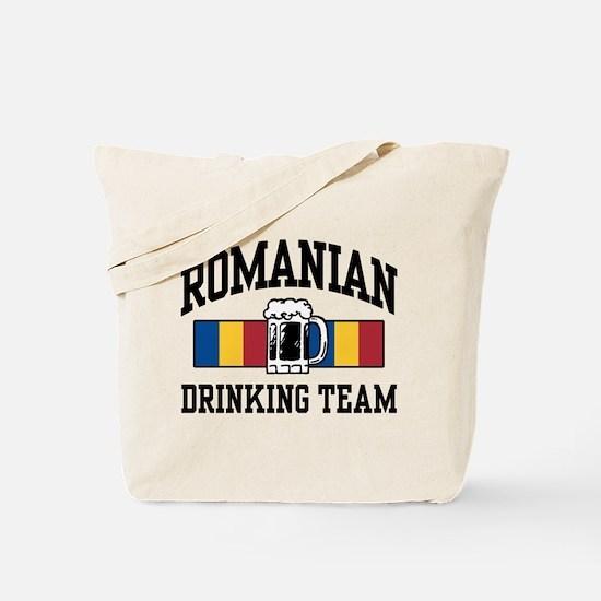 Romanian Drinking Team Tote Bag