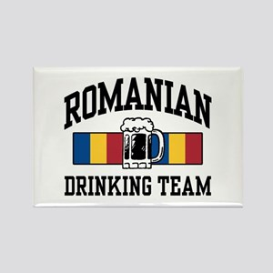 Romanian Drinking Team Rectangle Magnet
