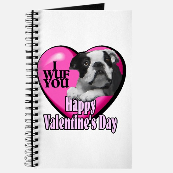 Boston Terrier V-Day Journal