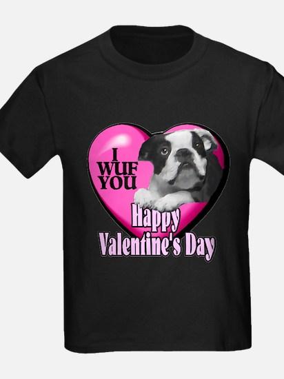Boston Terrier V-Day T