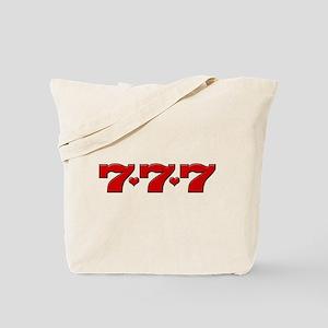 777 Hearts Tote Bag