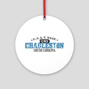 Charleston Air Force Base Ornament (Round)