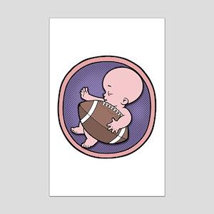 Future Footballer Mini Poster Print