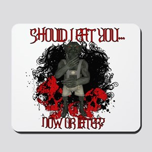 Now Or Later Mousepad