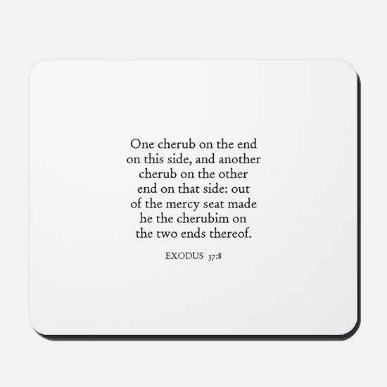 EXODUS  37:8 Mousepad