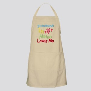Someone in Maine Loves Me BBQ Apron